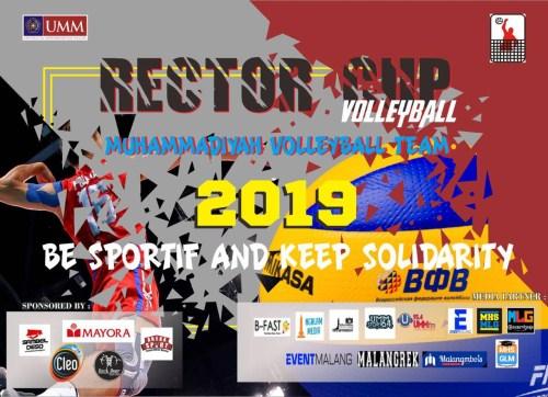Rektor Cup Volley Ball Universitas Muhammadiyah Malang2019