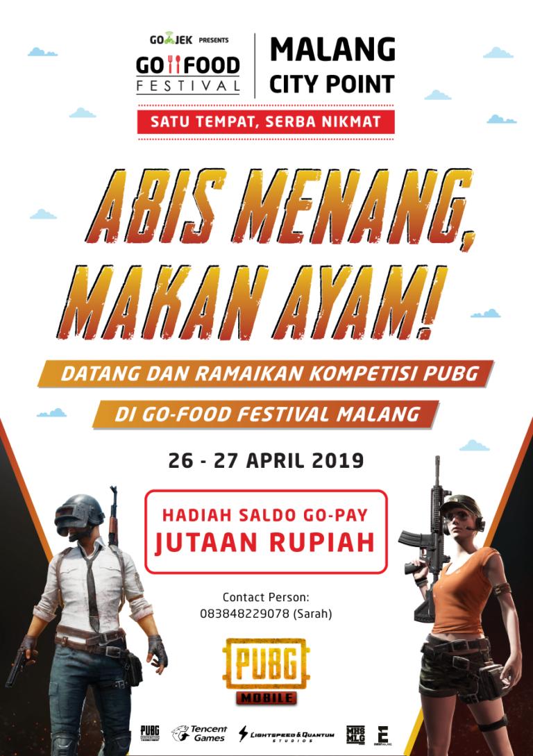 """PUBG Mobile Competition""""Abis Menang, Makan Ayam"""""""