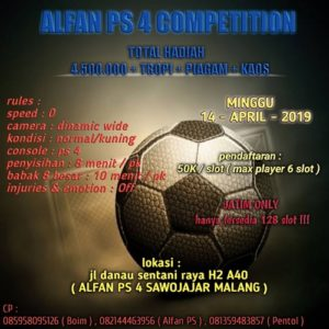 Alfan PS 4 Competition