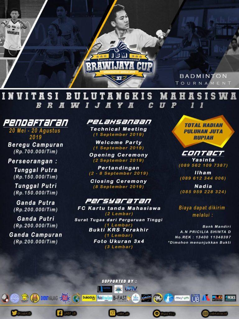 Brawijaya Cup : Bandminton Tournament