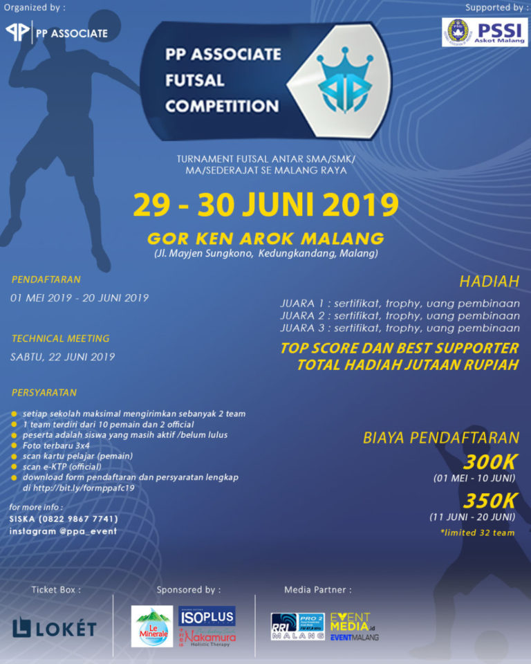 PP Associate Futsal Competition