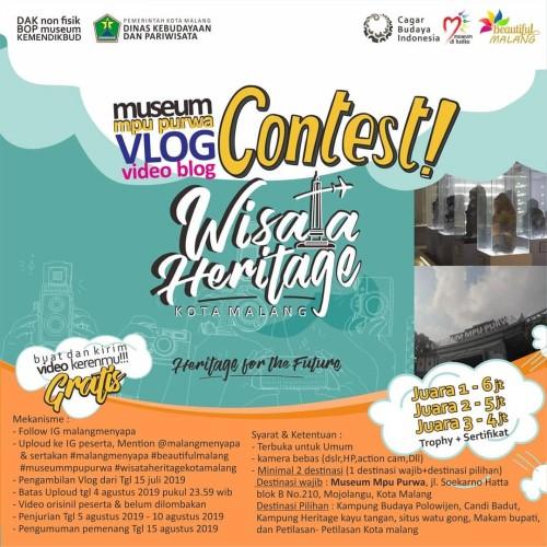 Museum Mpu Purwa Vlog Vidio Blog Contest