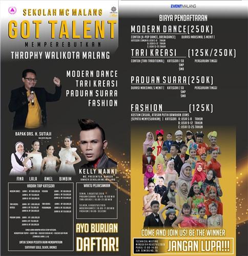 Sekolah MC Malang Got Talent 2019