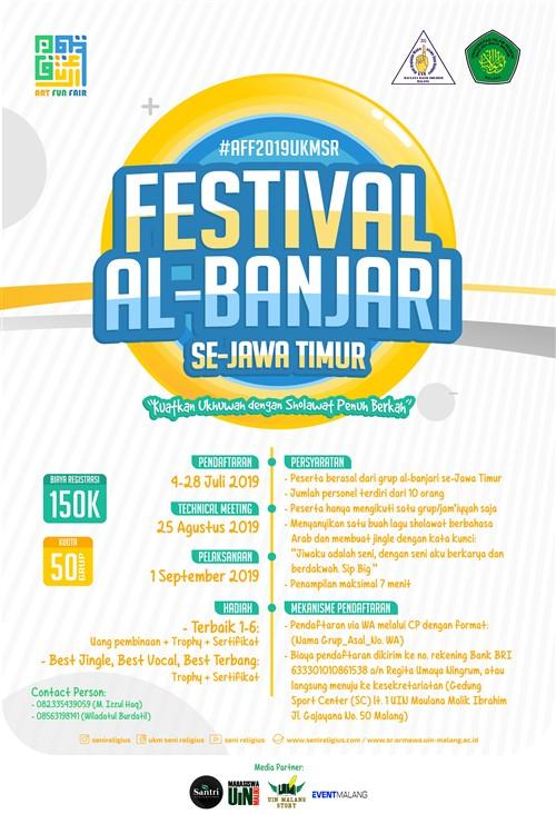 Art Fun Fair 2019 : Festival Sholawat Al-Banjari