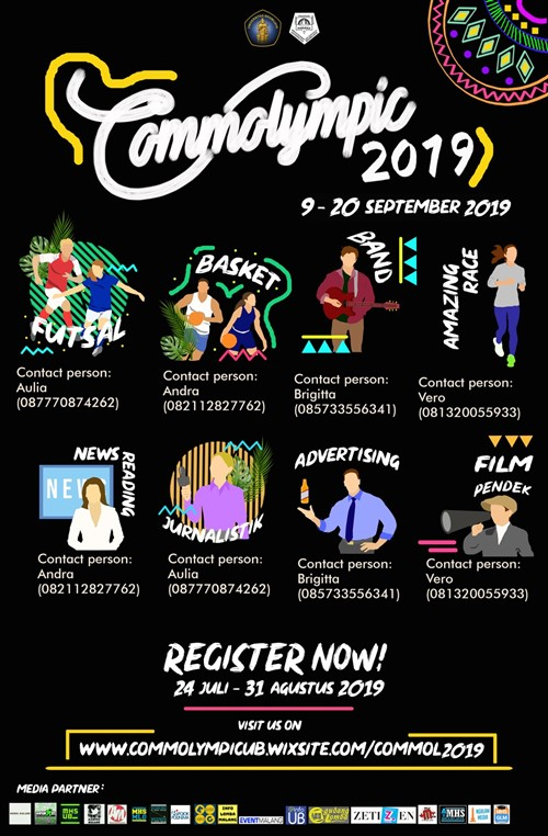"COMMOLYMPIC 2019 ""Journey To Open Glory"""