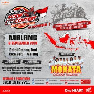 Honda Modif 2019 Contest
