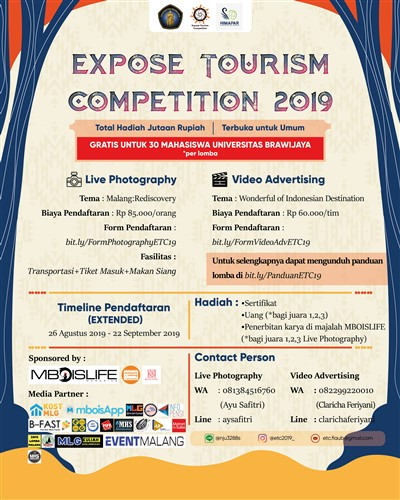 Expose Tourism Competition2019