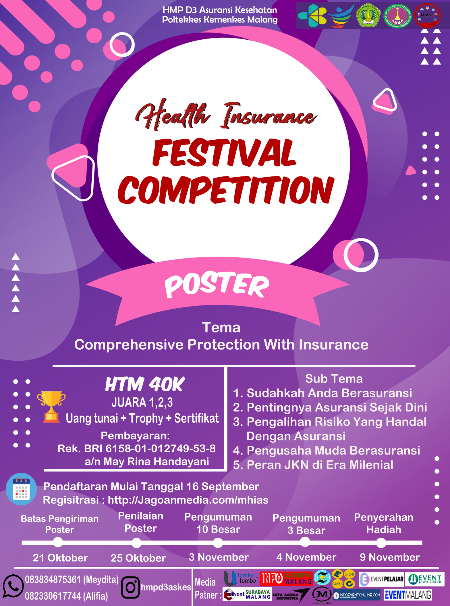 Health Insurance Festival Competition