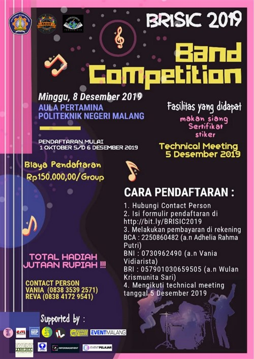 BRISIC 2019 : Band Competition