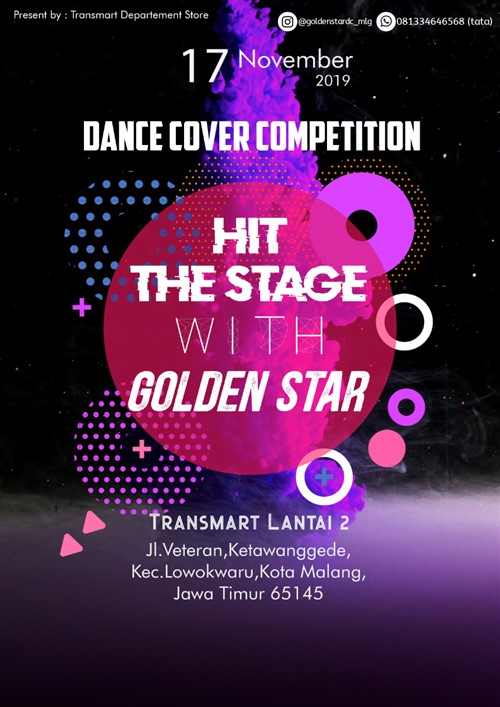 Hit The Stage with Golden Star : Dance Cover Competition