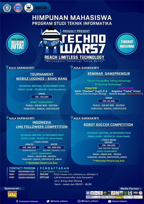 Techno Wars 7, Reach Limitless Technology