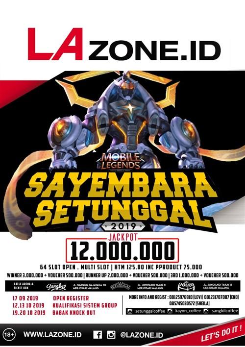 "Mobile Legends ""Sayembara Setunggal 2019"""