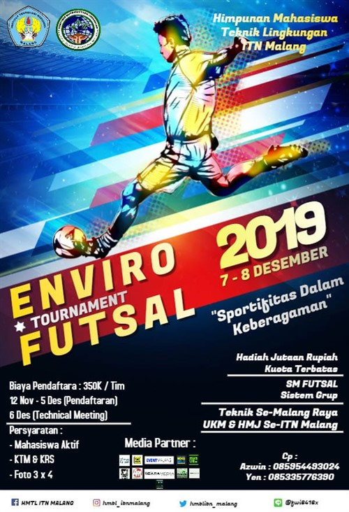 Enviro Tournament Futsal 2019