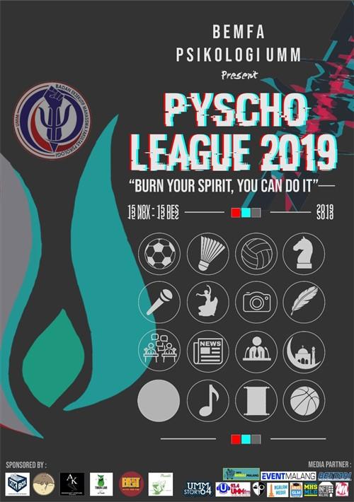 """Pyscho League 2019 """"Burn Your Spirit, You Can Do It"""""""