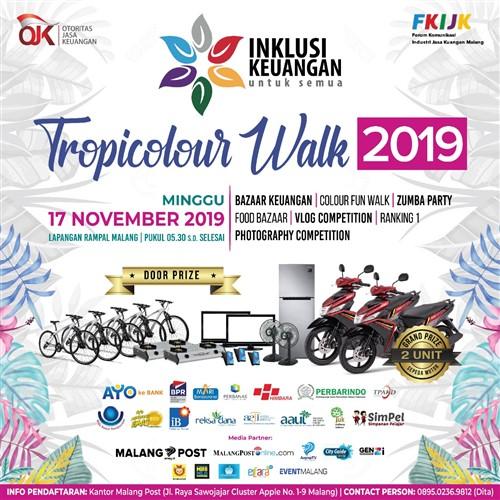 Tropicolour Walk 2019