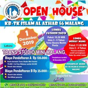 Open House KB-TK Islam Al Azhar 56 Malang
