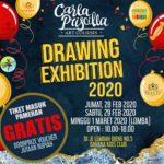 Carla Priscilla Art Courses Drawing Exhibition 2020