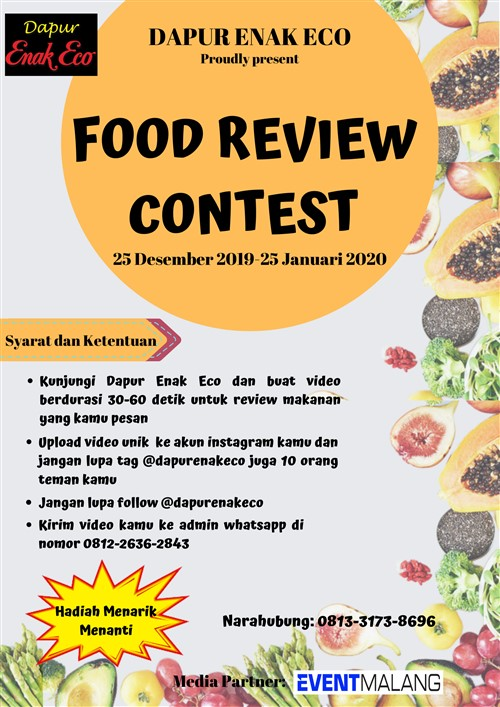 Food Review Contest