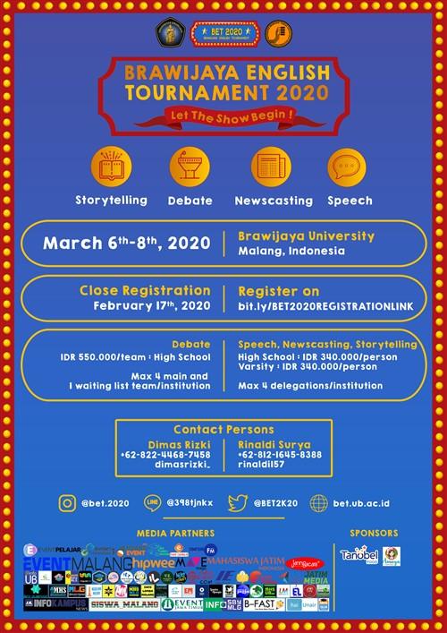 Brawijaya English Tournament 2020