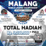 Malang Mobile Legend & Modern Dance Competition