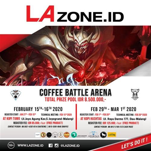 "Mobile Legends ""COFFEE BATTLE ARENA"""