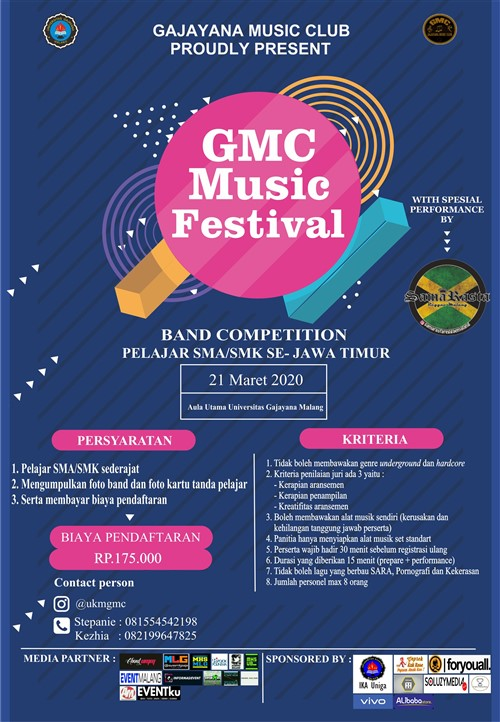 GMC Music festival : Band Competition