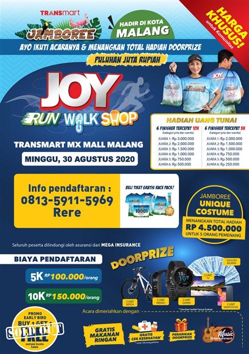 Joy Run Walk Shop