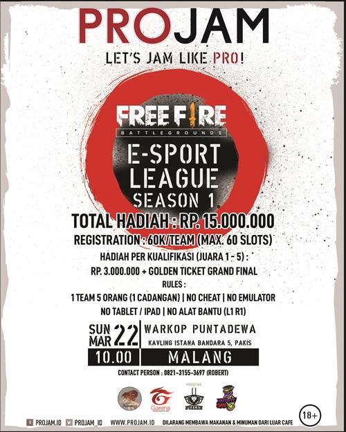 E-Sport League Season 1