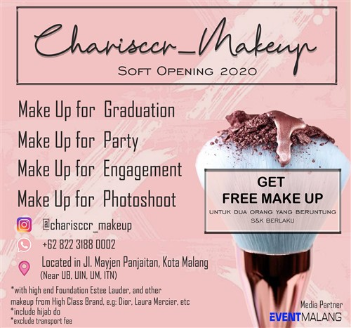 Charisccr Makeup Soft Opening