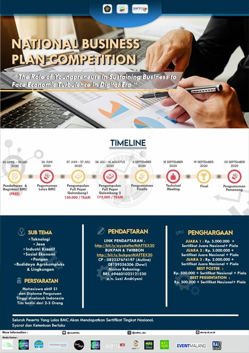 Business Plan Competition NAFTEX 2020
