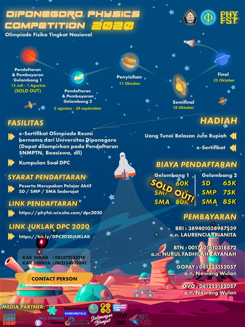 Diponegoro Physics Competition 2020